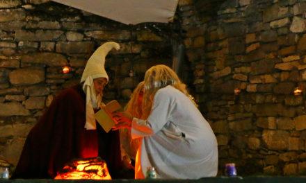 Un centenar de personas se dieron cita en la XVI Fiesta de la Luna Llena
