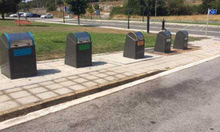Renovados los contenedores soterrados de la calle Navarra