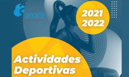 Programa de actividades deportivas municipales para la temporada 2021/22