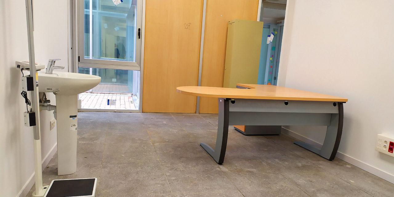 Concluyen las obras de adecuación de las nuevas salas del Centro de Salud